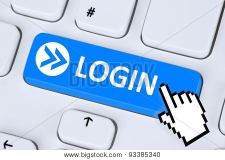 Login Button Submit With Password On Internet Computer