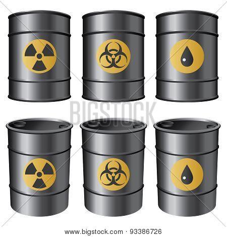 Black Barrels.