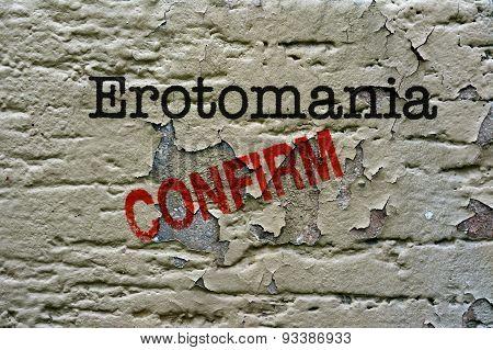 Erotomania  Confirm