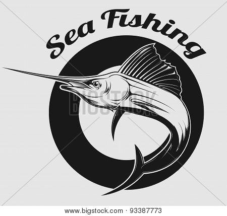 Sea Fishing Logo