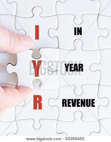 Last Puzzle Piece With Business Acronym Iyr