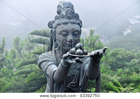 Statue Of Tian Tan Buddha Complex