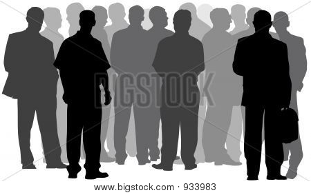 Businessmen Group(Great For Your Design)