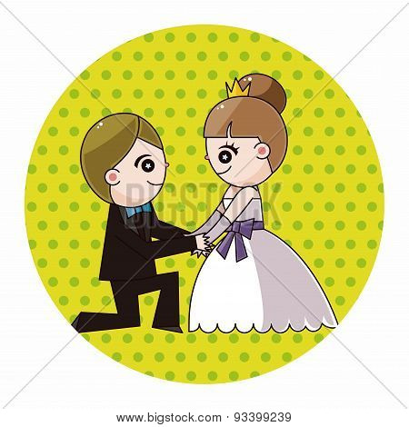 Wedding Couple Theme Elements Vector,eps