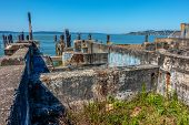 foto of foundation  - High Dynamic Range image of a decayed building foundation in Ruston - JPG