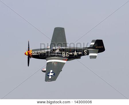 Guerra Mundial Ii Era P-51 Mustang