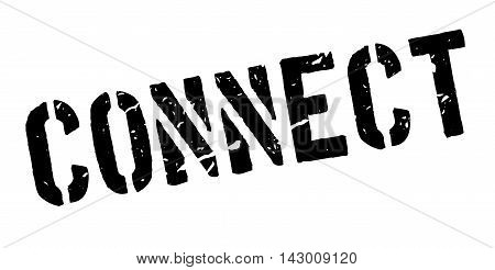 Connect Rubber Stamp