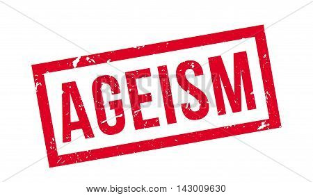 Ageism Rubber Stamp