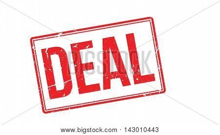 Deal Rubber Stamp