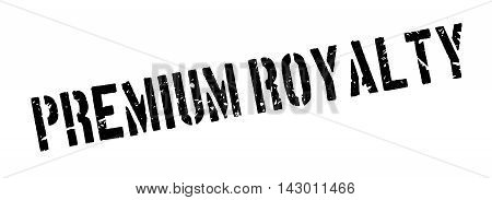 Premium Royalty Rubber Stamp