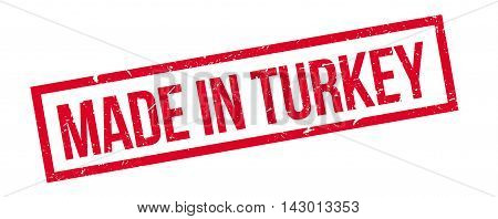 Made In Turkey Rubber Stamp