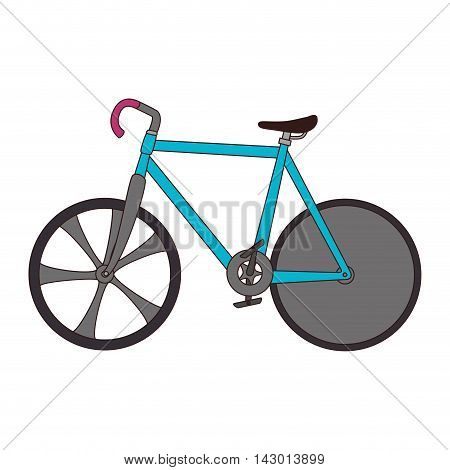 bicycle bike sport vehicle cycling object travel exercise active vector illustration isolated