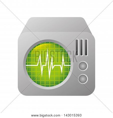 medical device technology chart health  instrument equipment vector illustration isolated