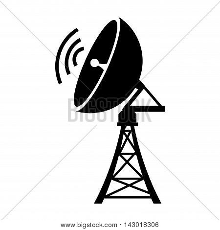antenna communication global station network transmission vector illustration isolated
