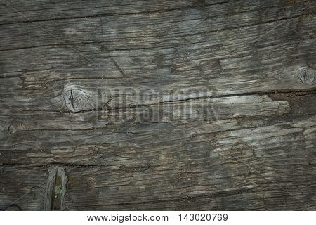 Pattern wood of old wooden bench in a park near the lake