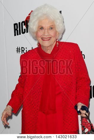 NEW YORK-AUG 3: Actress Charlotte Rae attends the 'Ricki And The Flash' New York premiere at AMC Lincoln Square Theater on August 3, 2015 in New York City.
