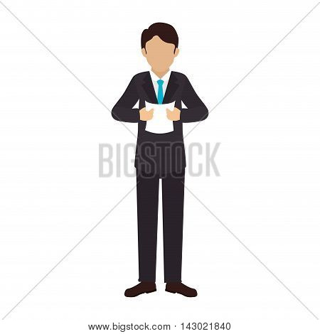 reporter man interview live press microphone male interview vector illustration isolated