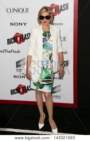 NEW YORK-AUG 3: Actress Christine Baranski attends the 'Ricki And The Flash' New York premiere at AMC Lincoln Square Theater on August 3, 2015 in New York City.