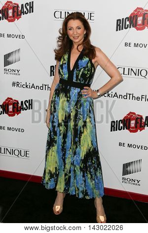 NEW YORK-AUG 3: Actress Donna Murphy attends the 'Ricki And The Flash' New York premiere at AMC Lincoln Square Theater on August 3, 2015 in New York City.