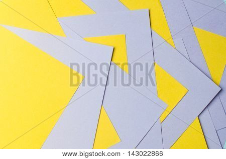 violet and yellow color paper abstract background
