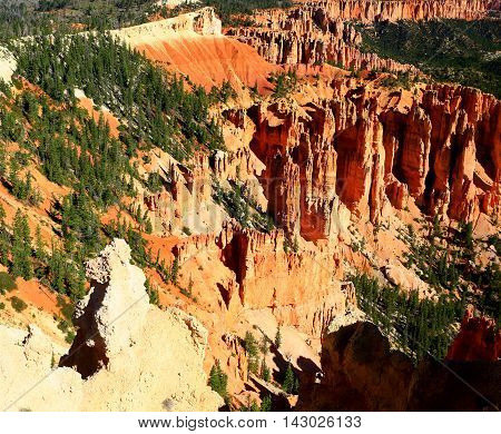 Poodle Rock Hoodoo at Bryce Canyon National Park near Rainbow Point