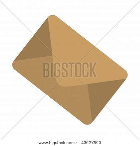 mail envelope post postal correspondence letter post newsletter vector illustration isolated