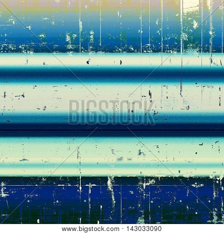 Scratched grunge background or spotted vintage texture. With different color patterns: brown; blue; white; cyan