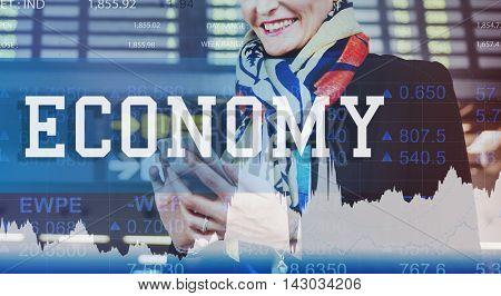 Economy Finance Accounting Investment Trade Concept