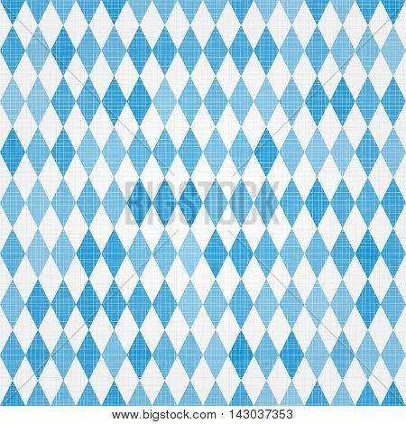 Traditional Bavarian linen flag background
