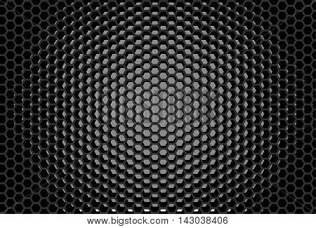 Hexagonal grid design Honeycomb pattern Digital background
