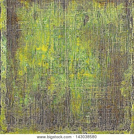 Grunge antique frame, vintage style background. With different color patterns: yellow (beige); brown; green; purple (violet); gray