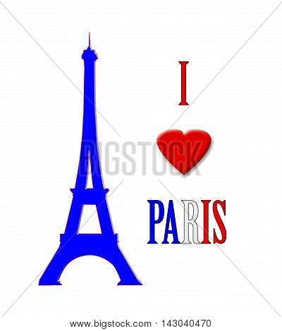 I  Love Paris, In France, Poster 01 a