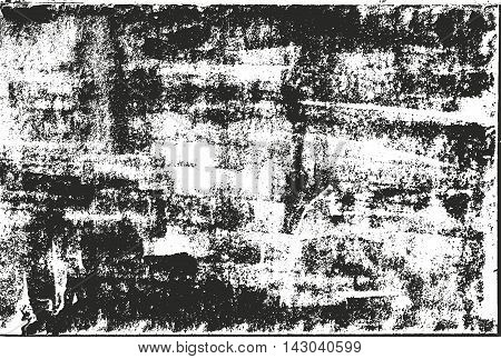 Distressed overlay texture of rusted peeled metal. grunge background. abstract halftone vector illustration