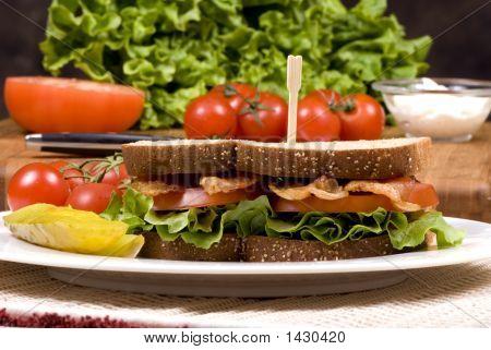 Bacon Lettuce And Tomato Sandwich 002