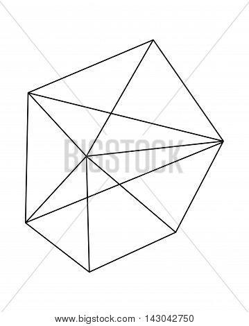 Polygonal Vector Figure