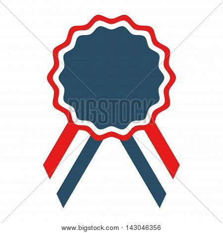 medal emblem usa isolated vector isolated graphic