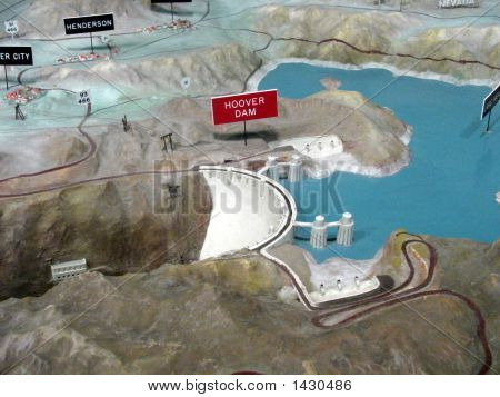 3D Model/Map Of Hoover Dam