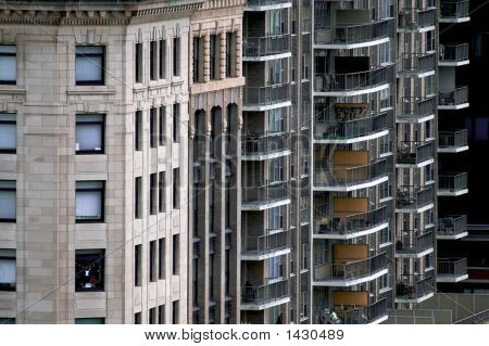 Assorted Apartment Buildings