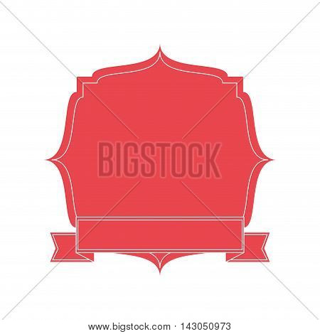 flat design delicate feminine emblem icon vector illustration