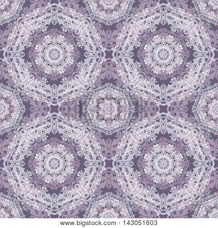 Lace romantic seamless pattern colors elegant print background