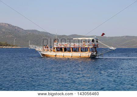 Boat Tour In Bodrum