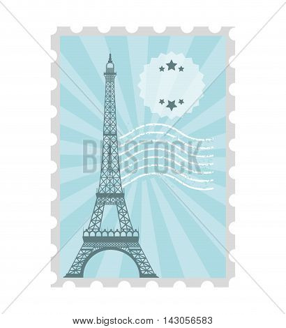 postal stamp classic isolated icon vector illustration design