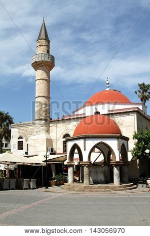 Mosque Defender (1725) on the island of Kos. Greece