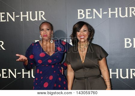 LOS ANGELES - AUG 16:  Mary Mary, Trecina Atkins-Campbell, Erica Atkins-Campbell at the