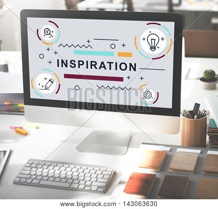Inspiration Motivation Creative Innovation Graphic Concept