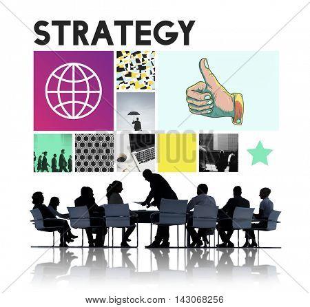 Strategy Motivation Objective Planning Process Concept