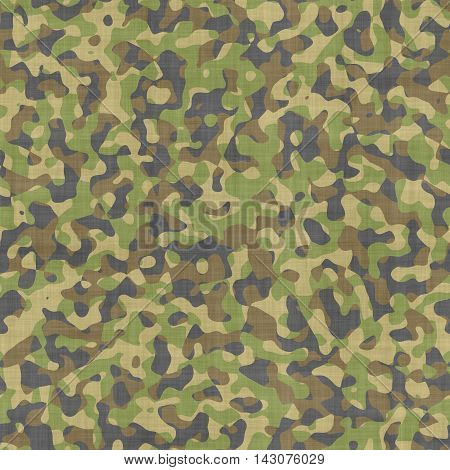 Computer generated of seamless soldier camouflage texture