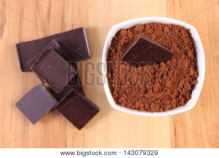 Chocolate And Cocoa Containing Magnesium, Healthy Nutrition