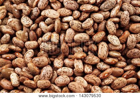 A close up image of pinto beans