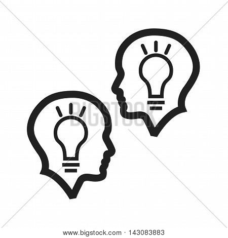 Planning, brainstorming, teamwork icon vector image. Can also be used for startup. Suitable for use on web apps, mobile apps and print media.